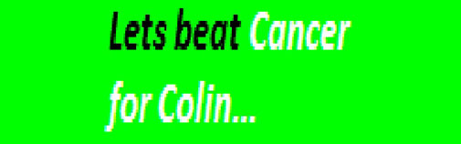 Lets Beat Cancer for Colin